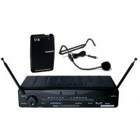 Stage 55 VHF True Diversity Wireless System with 4 headsets